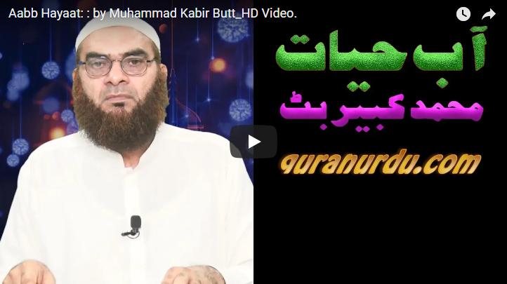 Aabb Hayaat: : by Muhammad Kabir Butt