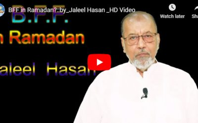 BFF in Ramadan? :: by Jaleel Hasan