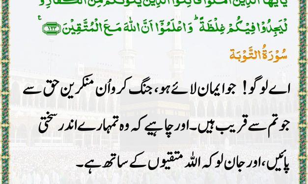 Daily Quran – 11 June 2019