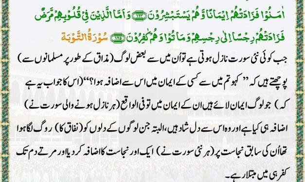 Daily Quran – 12 June 2019
