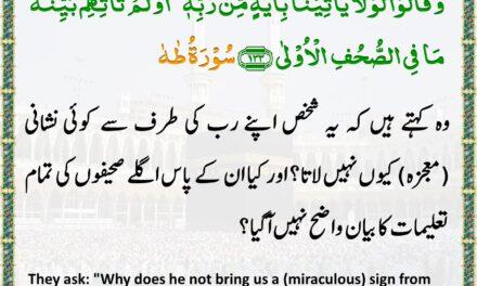 Daily Quran – Ramadan 12